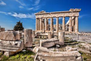 Красивые места Европы Акрополь, Афины, Греция