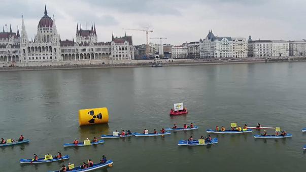 Венгрия протестует против атомной электростанции