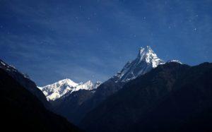 Гора Махапучхре, Непал