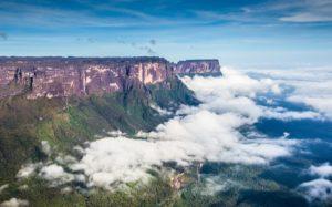 Гора Рорайма, Венесуэла, Бразилия и Гайана