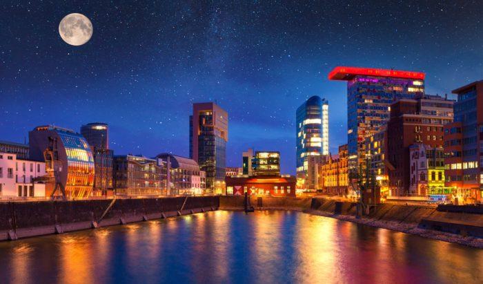 Дюссельдорф идеальный город для жизни