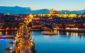 Красивые места Европы Карлов мост, Прага