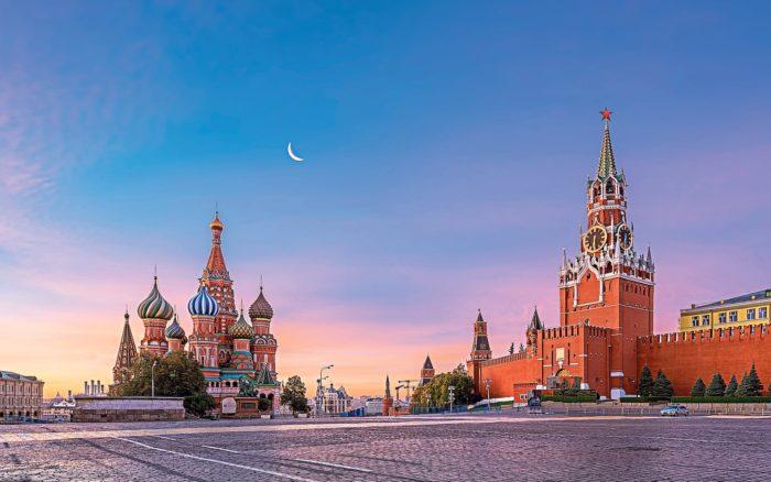Красивые места Европы Красная площадь, Москва, Россия