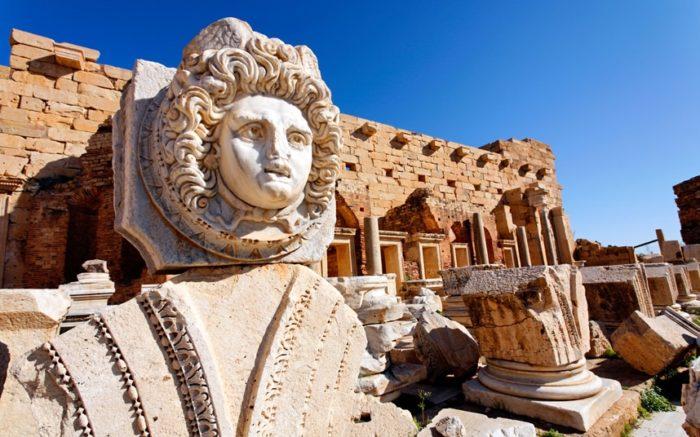 Лептис Магна, Ливия