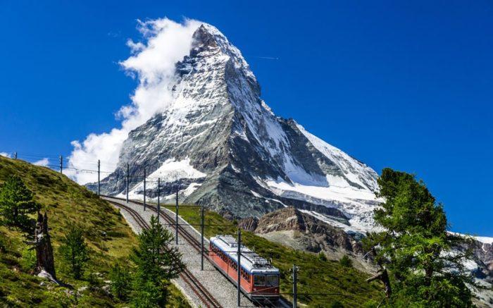 Гора Маттерхон, Швейцария