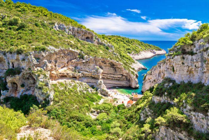 Остров Вис, Хорватия