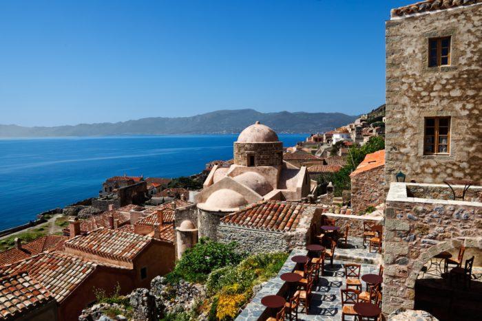 Остров Монемвасия, Греция