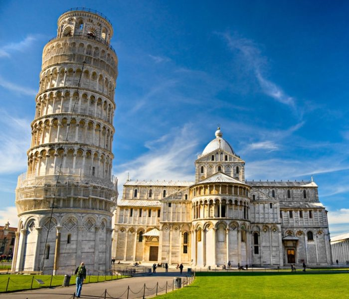 Красивые места Европы Пизанская башня, Италия