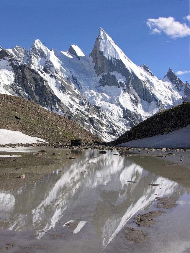 Гора Пик Лейлы, Пакистан