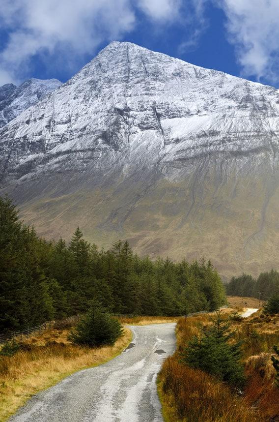 Гора Черный Куиллин, Шотландия