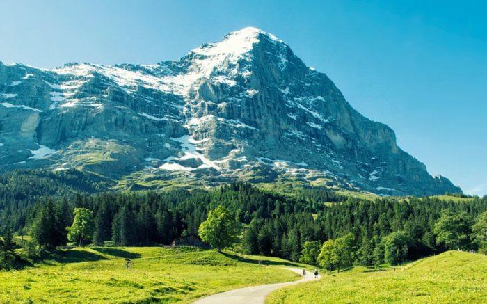 Гора Эйгер, Швейцария