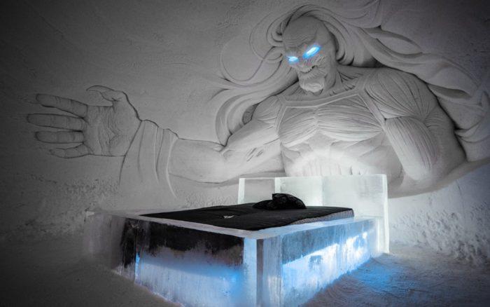 """Отель SnowVillage для поклонников """"Игры Престолов"""""""