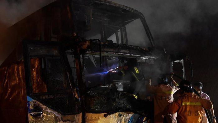 20 погибших в Таиланде при пожаре в автобусе