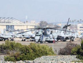 Американский военный вертолет потерпел крушение