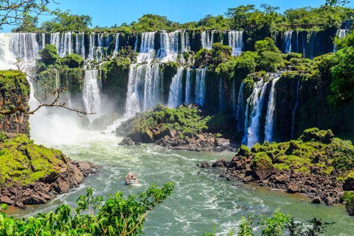 Водопад Игуасу, Бразилия и Аргентина