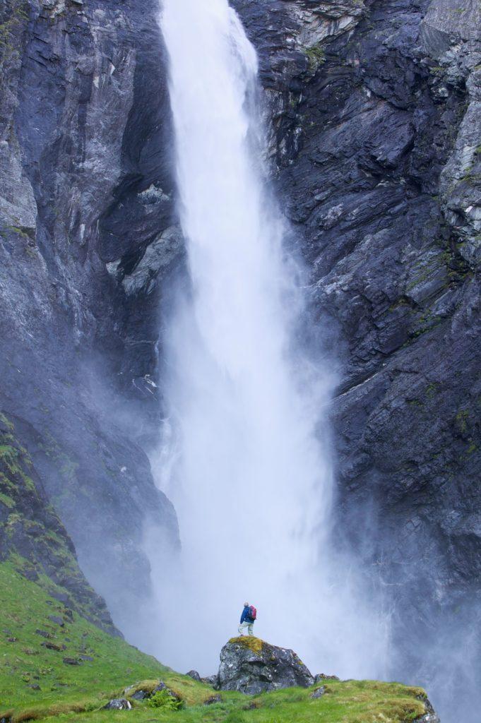 Водопад Мардалсфоссен, Норвегия