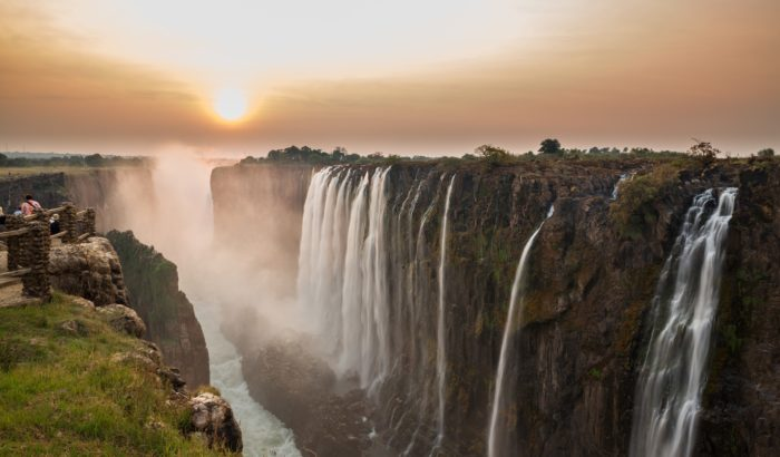 Водопад Виктория, Зимбабве и Замбия