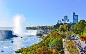 Ниагарский водопад, США и Канада