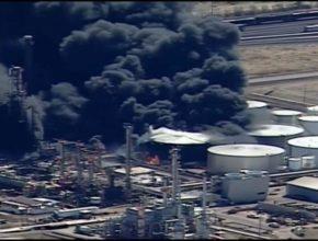 Одиннадцать человек получили ранения на нефтеперерабатывающем заводе в Висконсине