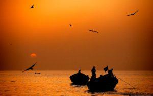 Рассвет в Гамбии