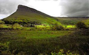 Гора Бенбулбен, Ирландия