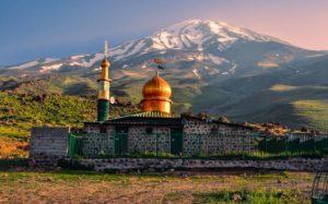 Гора Дамаванд, Иран