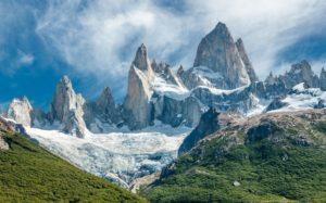 Гора Фитц Рой, Чили и Аргентина