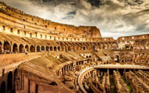 Красивые места Европы Колизей, Рим, Италия
