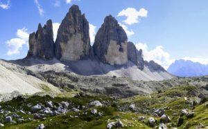 Гора Тре-Чиме-ди-Лаваредо, Италия