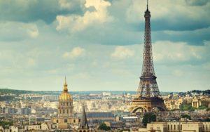 Красивые места Европы Эйфелева башня, Франция