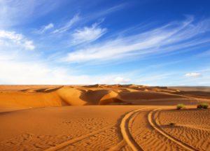 Бескрайние пустыни Омана