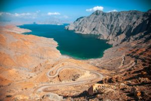 Песчаные фьорды Омана