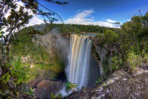 Водопад Кайтеер, Гайана