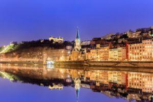 Рона и Сона - самая красивая река Европы
