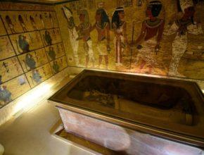 Скрытые комнаты в гробнице Тутанхамона не найдены