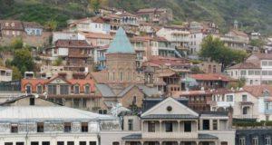 Город Тбилиси мост между древними и современными временами