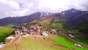 Удаленная горная деревня с собственным языком